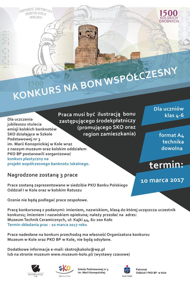 Konkurs plastyczny na projekt banknotu lokalnego